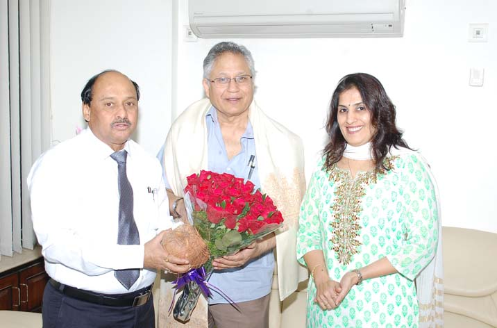 Mr. Shiv Khera visit our campus