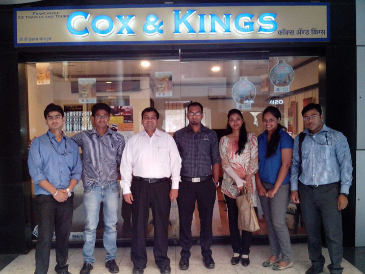 Visit @ Cox and Kings